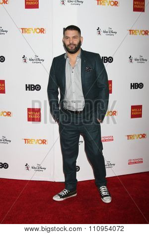 LOS ANGELES - DEC 6:  Guillermo Diaz at the TrevorLIVE Gala at the Hollywood Palladium on December 6, 2015 in Los Angeles, CA