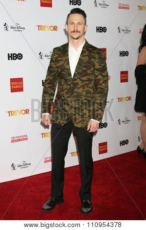 LOS ANGELES - DEC 6:  Jonathan Tucker at the TrevorLIVE Gala at the Hollywood Palladium on December 6, 2015 in Los Angeles, CA