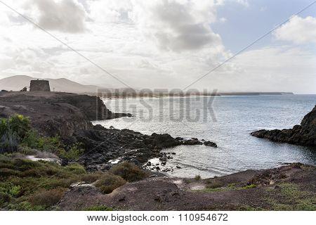 Bay Of El Cotillo On Fuerteventura