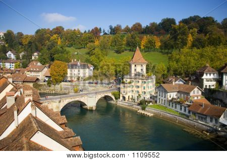 Aare River, Bern Switzerland