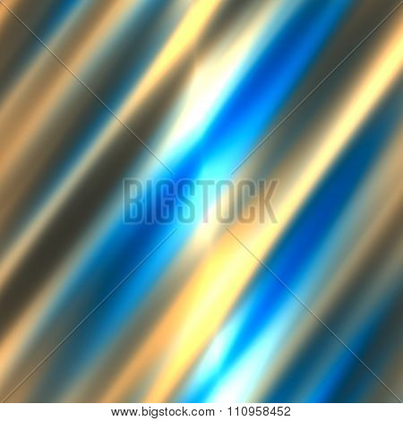 Abstract blurred white blue colored lines. Motion blur lines. Bright lights glow.