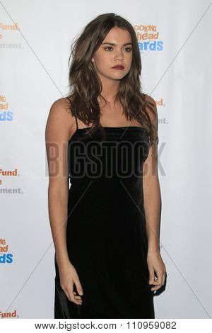 LOS ANGELES - DEC 3:  Maia Mitchell at the  Looking Ahead Awards at the Taglyan Complex on December 3, 2015 in Los Angeles, CA