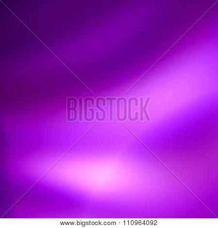Soft abstract purple background. Soft blur effect. Black neon light effect. Modern digital art.