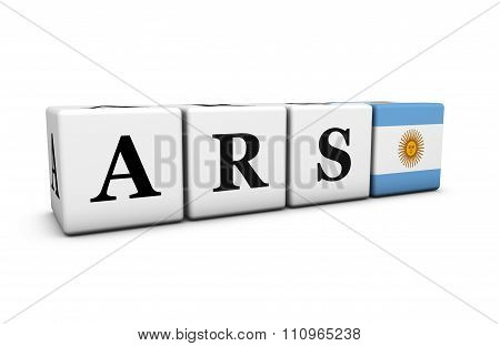 Ars Argentine Peso Currency Of Argentina