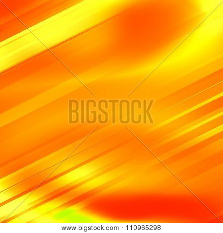 Abstract yellow background for technology. Fresh orange glow. Modern digital art. Made in full frame