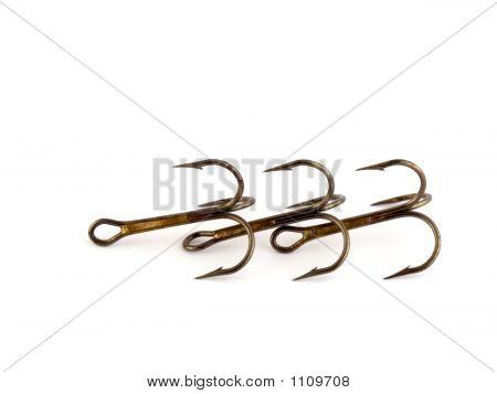 Three Tripple Hooks