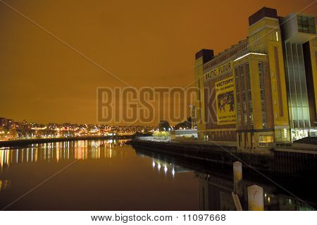 The Baltic by night