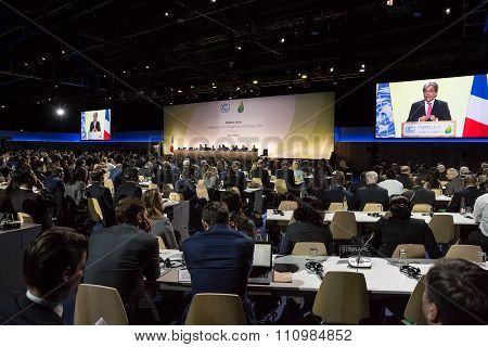 Work Of Press During Un Conference On Climate Change
