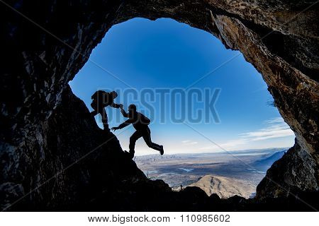 exploration and cooperation in the cave