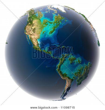 Erde nach der Flut