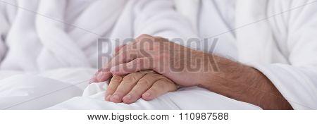 Love Of Elder Couple