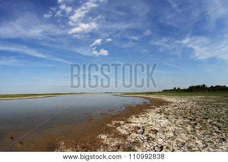 Drought In Natural Reserve Slano Kopovo