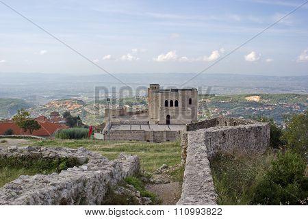 castle areal and Skanderbeg museum in Kruje, Albania