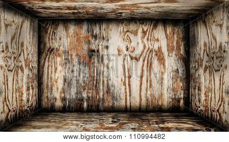 Inside Wooden Box