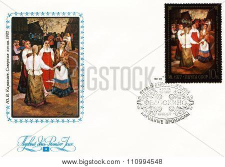 Russian Handicrafts themes