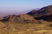 picture of anza  - Anza Borrego Desert view in sunset  - JPG