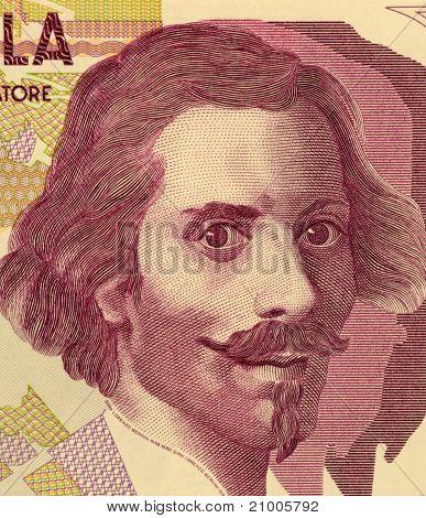ITALY - CIRCA 1992: Gian Lorenzo Bernini
