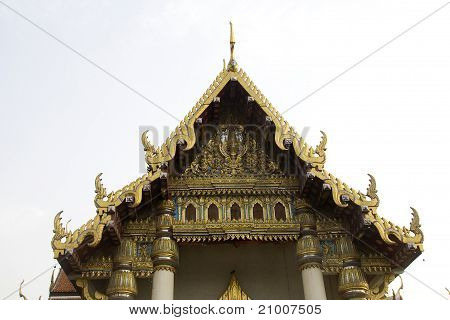 Attractive Temple Roof