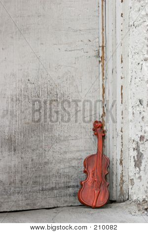 Violin By The Door