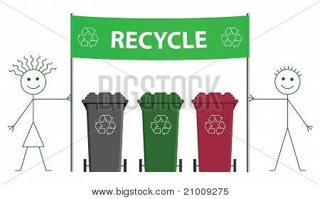 Banner recycle