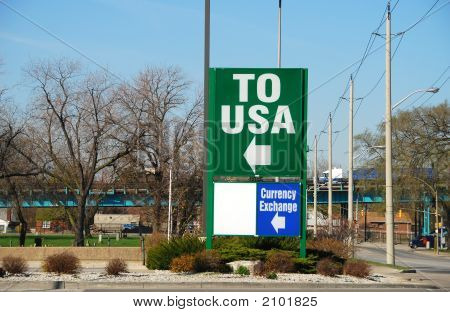 Usa Border Crossing