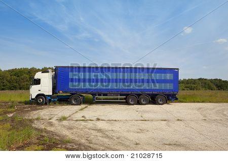 Parque de camiones