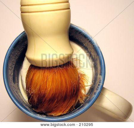 Shaving Brush And Mug