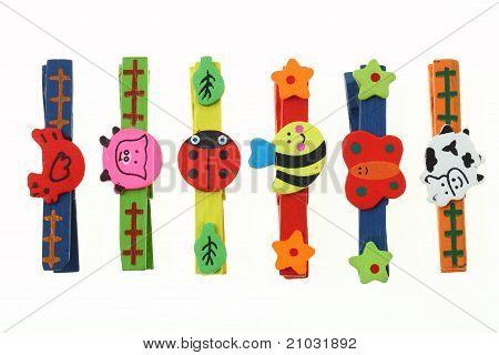 Color Wood Animal