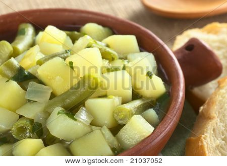 Potato and Green Bean Soup