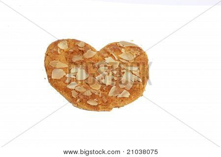 Heartshaped Cookie