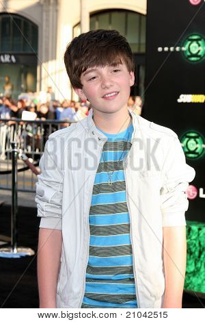 LOS ANGELES - JUN 15: Greyson Chance arriving at the Green Lantern Premiere at Grauman's Chinese Theater on June 15, 2011 in Los Angeles, CA