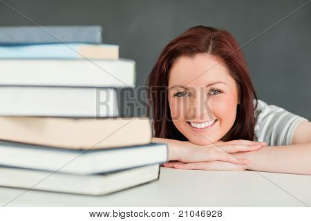 Smiling Young Woman Looking At The Camera
