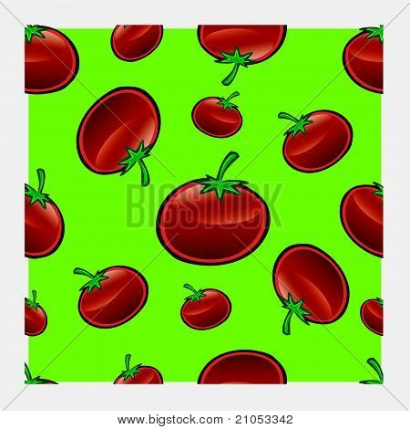 Tomato Repeat Pattern