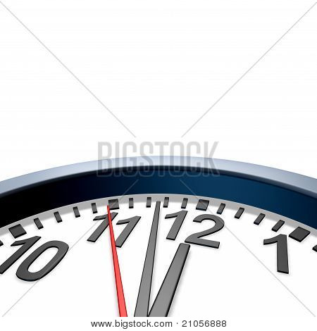 Clock Ticking Time Symbol