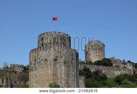 Rumeli Fortress in Istanbul Turkey