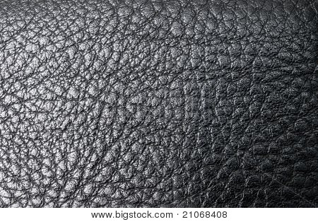 Leather Black Background