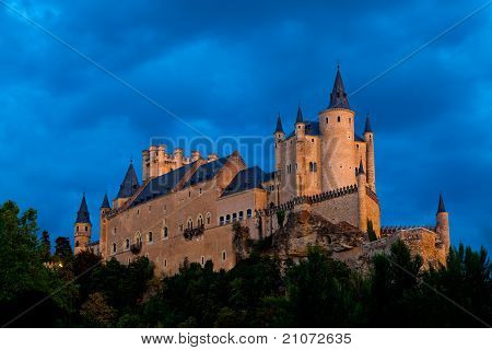 Fortress Of Segovia