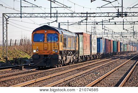 Northbound freight