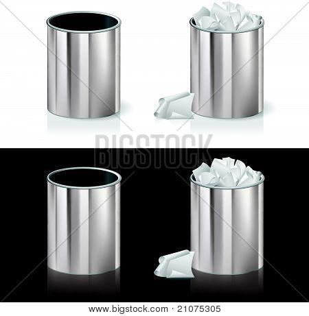 Realistic bin
