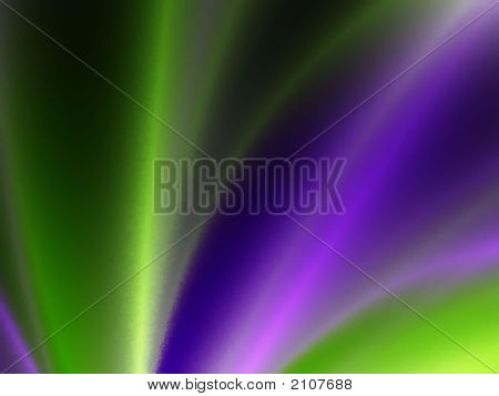Green Purple Spotlight