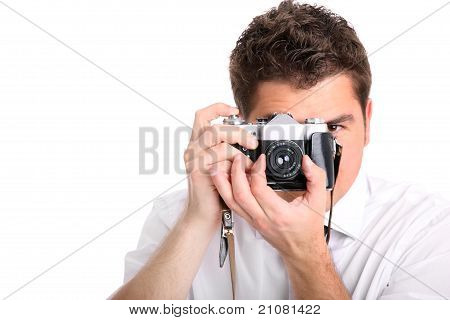 Handsome Photographer