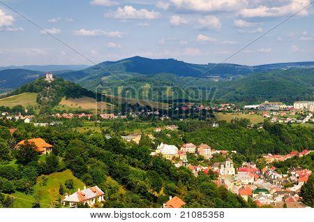 historic mining town of Banska Stiavnica