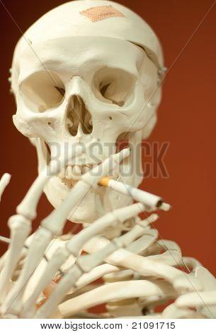 Unhealthy skeleton