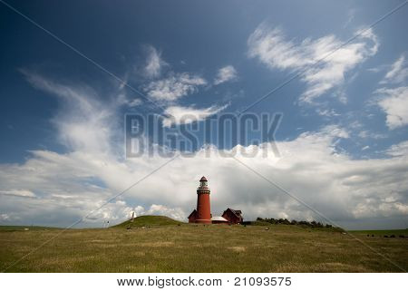 Red Danish Lighthouse