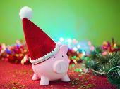 Christmas Savings Concept poster