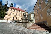 foto of banska  - Immaculata Maria pillar Banska Stiavnica - JPG
