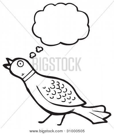 funny pheasant cartoon