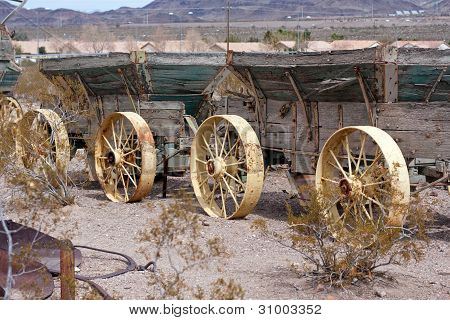 Old Wild West Wagons