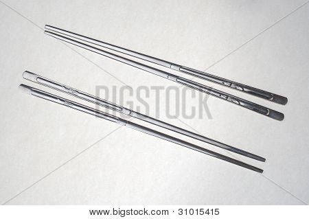 Metal Chopsticks.
