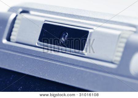 Laptop's Webcamera.